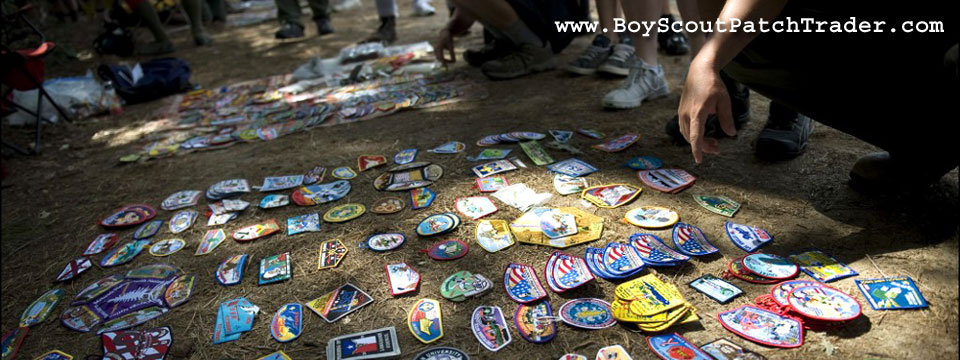 Boy Scout Patch Trading