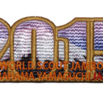 2015 World Jamboree Patch - Purple