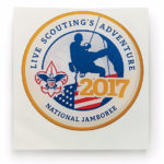 2017 National Jamboree Domed Sticker