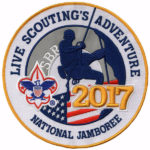 2017 National Jamboree Logo Jacket Patch