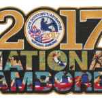 2017 National Jamboree Rectangle Jacket Patch